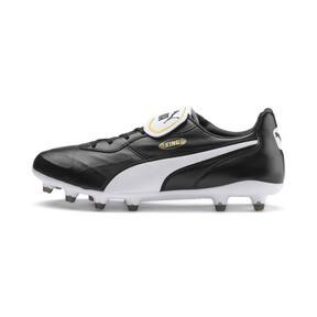 Thumbnail 1 of King Top FG Soccer Cleats, Puma Black-Puma White, medium
