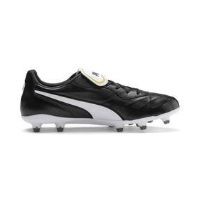 Thumbnail 6 of King Top FG Soccer Cleats, Puma Black-Puma White, medium