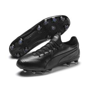 Thumbnail 3 of KING Pro FG Football Boots, Puma Black-Puma White, medium