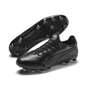 Thumbnail 3 of King Pro FG Soccer Cleats, Puma Black-Puma White, medium