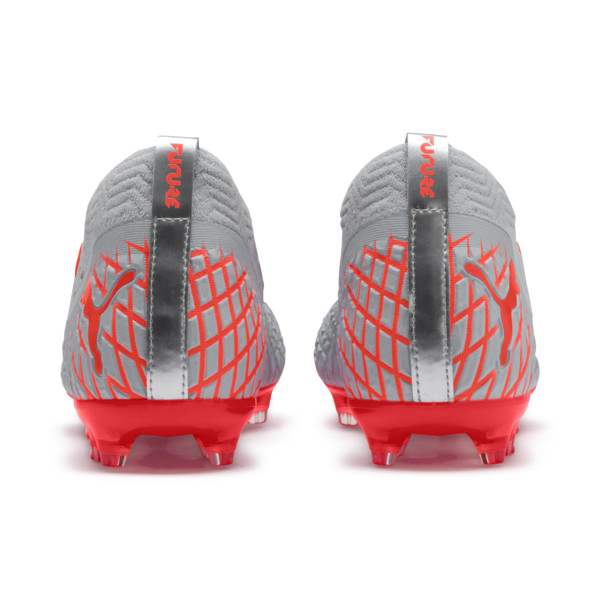 FUTURE 4.2 NETFIT FG/AG Men's Soccer Cleats, Glacial Blue-Nrgy Red, large