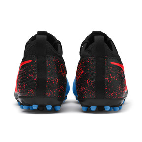 Thumbnail 3 of PUMA ONE 19.3 MG Men's Football Boots, Bleu Azur-Red Blast-Black, medium