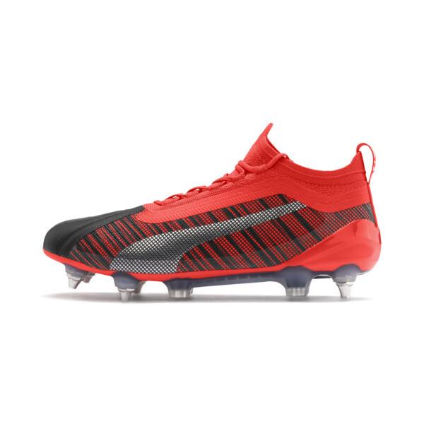Mxsgblack Red Scarpe 1 Aged 8yw0vmnno Calcio Nrgy One Puma Da 5 Silver dQrhst