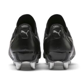 Imagen en miniatura 3 de Botas de rugby de hombre KING Pro H8, Puma Black-Puma Aged Silver, mediana