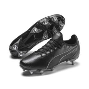 Imagen en miniatura 2 de Botas de rugby de hombre KING Pro H8, Puma Black-Puma Aged Silver, mediana