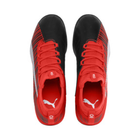 Thumbnail 7 of PUMA ONE 5.3 TT Men's Soccer Shoes, Black-Nrgy Red-Aged Silver, medium