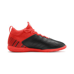 Thumbnail 6 of PUMA ONE 5.3 IT Men's Soccer Shoes, Black-Nrgy Red-Aged Silver, medium