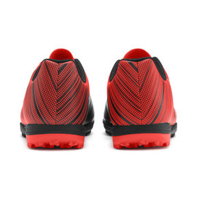 Thumbnail 4 of PUMA ONE 5.4 TT Men's Soccer Shoes, Black-Nrgy Red-Aged Silver, medium