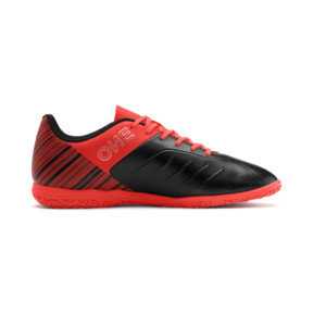 Thumbnail 6 of PUMA ONE 5.4 IT Men's Soccer Shoes, Black-Nrgy Red-Aged Silver, medium