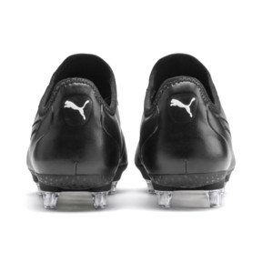 Thumbnail 4 of KING SG Men's Football Boots, Puma Black-Puma White, medium