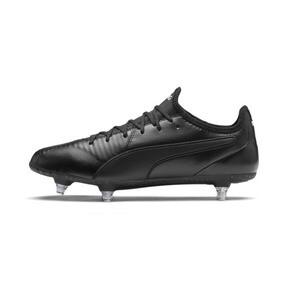 Thumbnail 1 of KING SG Men's Football Boots, Puma Black-Puma White, medium