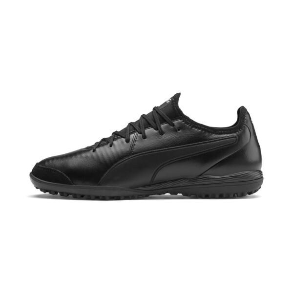 King Pro TT Soccer Shoes, Puma Black-Puma White, large