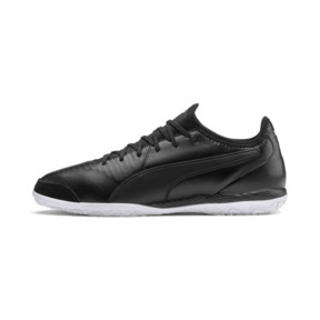 Thumbnail 1 of King Pro IT Soccer Shoes, Puma Black-Puma White, medium