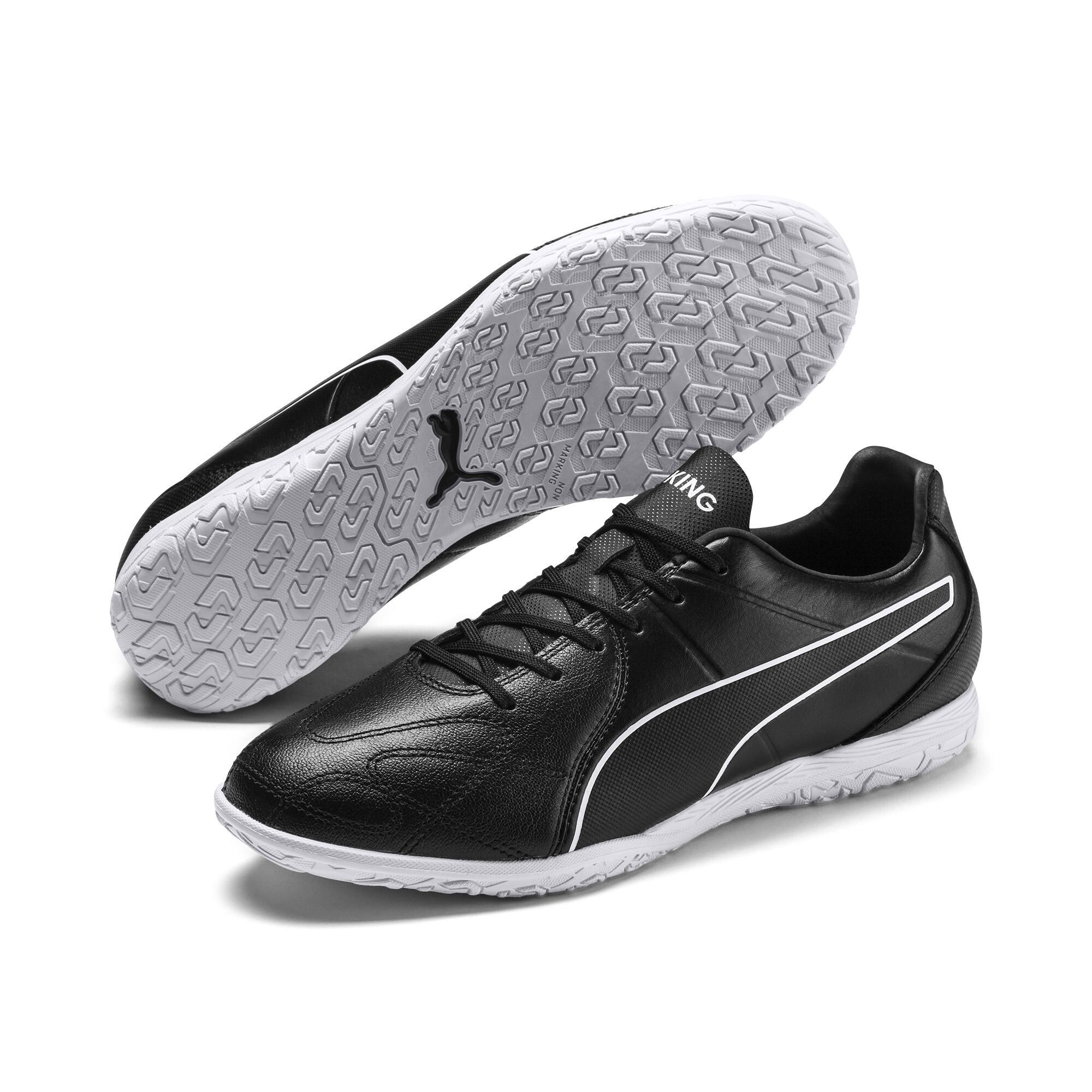 【プーマ公式通販】 プーマ キング ヒーロー IT サッカー インドアトレーニング メンズ Puma Black-Puma White |PUMA.com