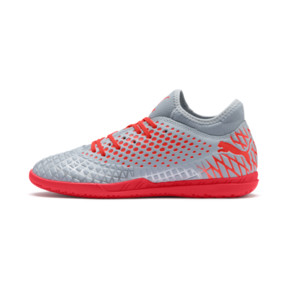 Thumbnail 1 of FUTURE 4.4 IT Men's Soccer Shoes, Glacial Blue-Nrgy Red, medium