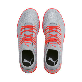 Thumbnail 7 of FUTURE 4.4 IT Men's Soccer Shoes, Glacial Blue-Nrgy Red, medium