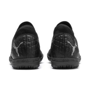Thumbnail 4 of FUTURE 4.4 IT Men's Soccer Shoes, Black-Black-Puma Aged Silver, medium