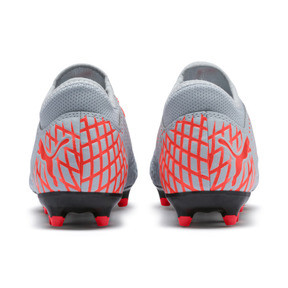 Thumbnail 3 of FUTURE 4.4 FG/AG Soccer Cleats JR, Glacial Blue-Nrgy Red, medium