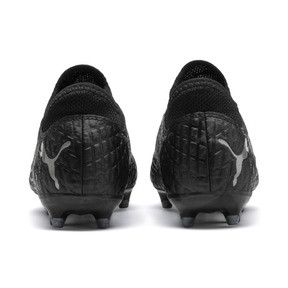 Thumbnail 3 of FUTURE 4.4 Youth Football Boots, Black-Black-Puma Aged Silver, medium