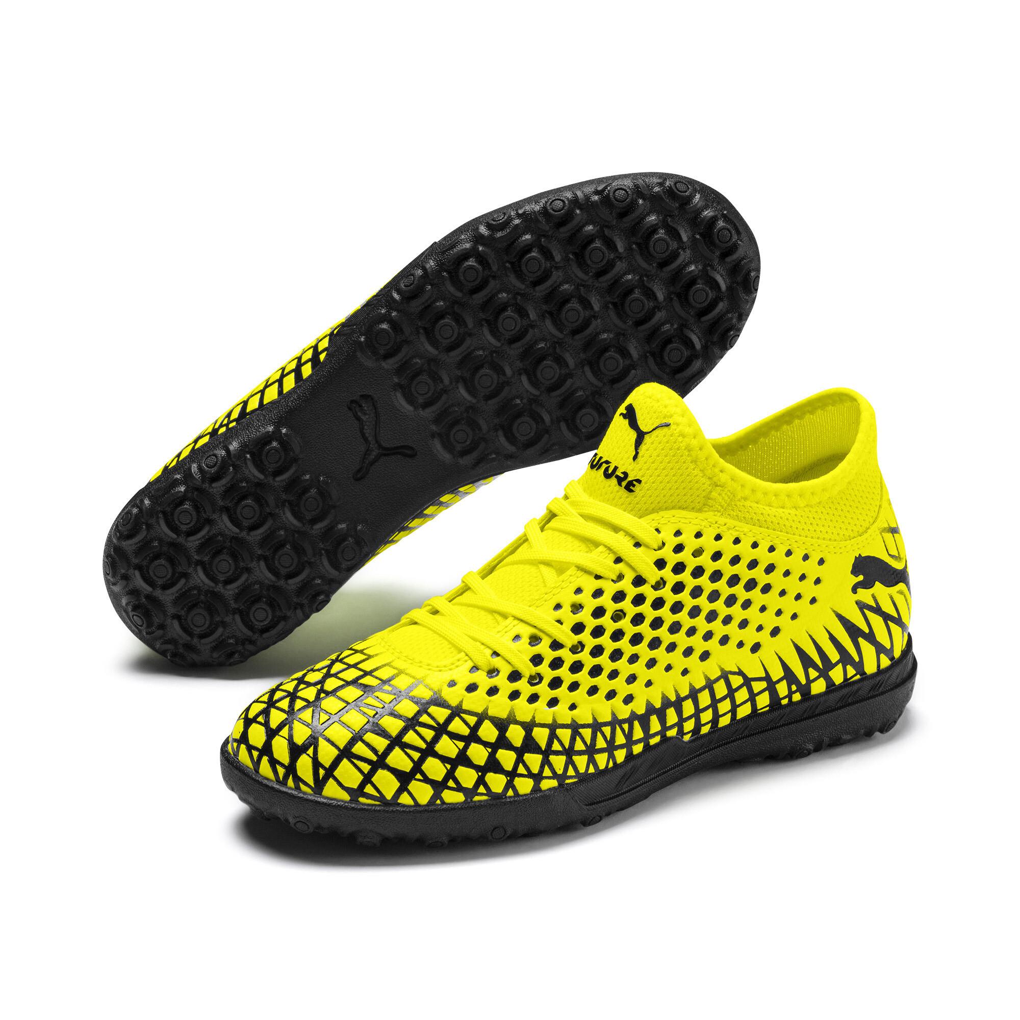 プーマ キッズ フューチャー 4.4 サッカー ターフトレーニング JR 18-24.5CM ユニセックス Yellow Alert-Puma Black  PUMA.com