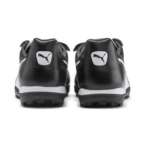 Thumbnail 4 of King Top TT Soccer Shoes, Puma Black-Puma White, medium