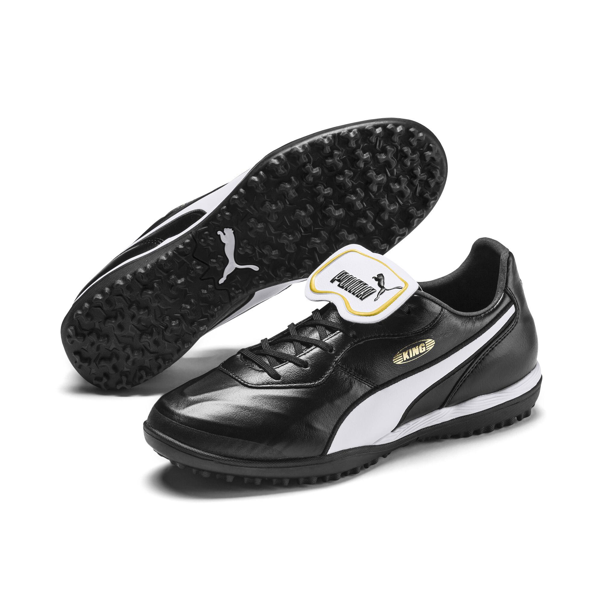 【プーマ公式通販】 プーマ キング トップ TT サッカー ターフトレーニング メンズ Puma Black-Puma White |PUMA.com