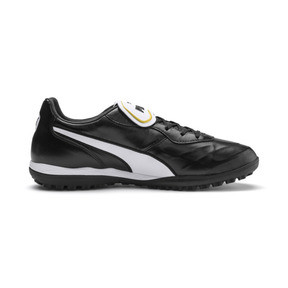 Thumbnail 6 of King Top TT Soccer Shoes, Puma Black-Puma White, medium