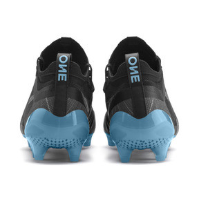 Thumbnail 4 of PUMA ONE 5.1 City Men's Football Boots, Black-Sky Blue-Silver, medium