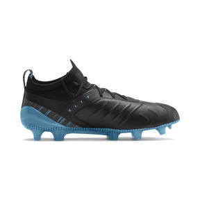 Thumbnail 6 of PUMA ONE 5.1 City Men's Football Boots, Black-Sky Blue-Silver, medium