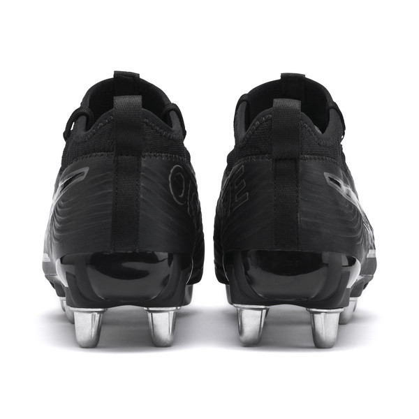PUMA ONE H8 Men's Rugby Boots<br />, Black-Puma Black-Puma Black, large