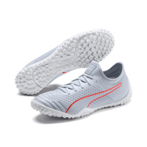 Thumbnail 2 of 365 Concrete 2 ST Men's Soccer Shoes, Grey Dawn-Nrgy Red-White, medium