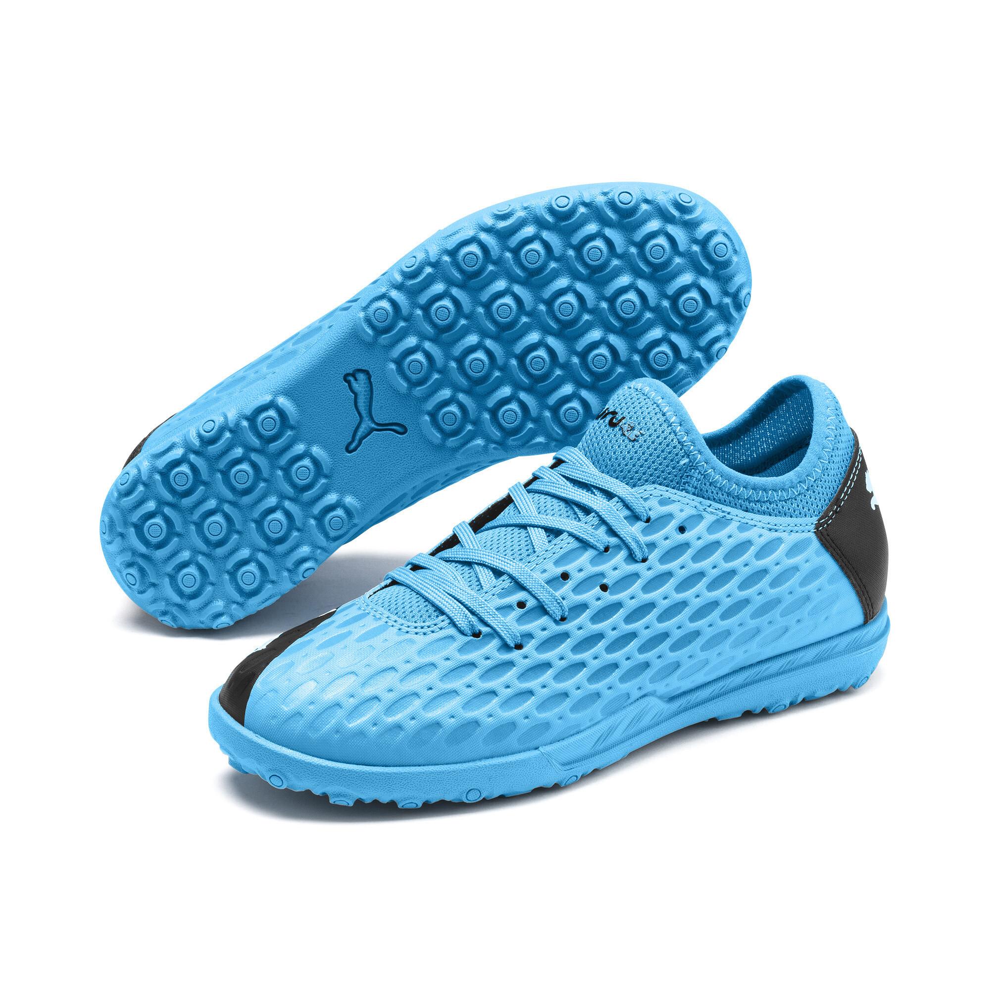 【プーマ公式通販】 プーマ キッズ フューチャー 5.4 TT JR サッカー ターフトレーニング 18-24.5cm メンズ Blue-Nrgy Blue-Black-Pink |PUMA.com