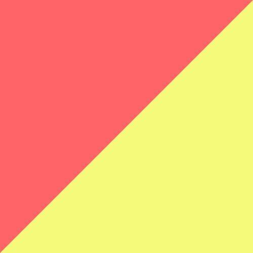 Peach-Fizzy Yellow-Silver