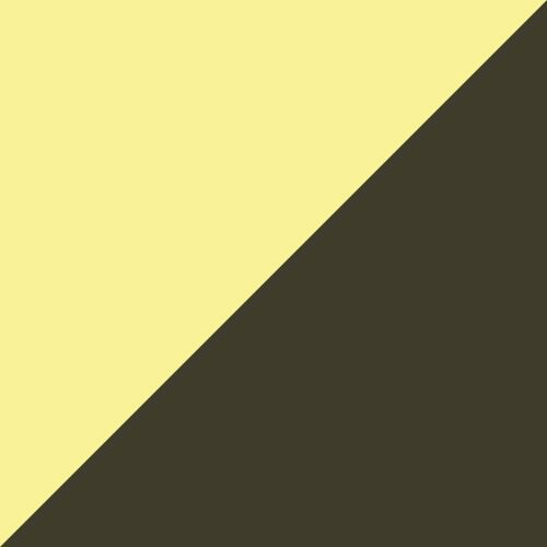 Yellow Alert- Black- White