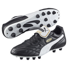Thumbnail 2 of King Top di FG Men's Soccer Cleats, black-white-team gold, medium