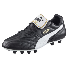 Thumbnail 1 of King Top di FG Men's Soccer Cleats, black-white-team gold, medium