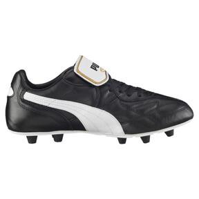 Thumbnail 4 of King Top di FG Men's Soccer Cleats, black-white-team gold, medium