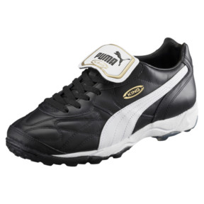 Thumbnail 1 of Soccer Shoe King Allround TT, black-white-team gold, medium