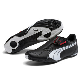 Thumbnail 2 of Redon Move Men's Shoes, black-white-high risk red, medium