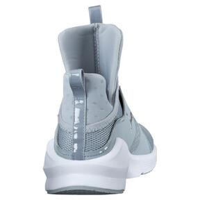 Thumbnail 4 of PUMA Fierce Core Training Shoes, Quarry-Puma White-P Silver, medium