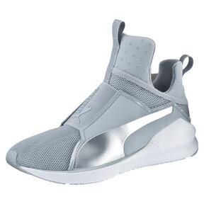 Thumbnail 1 of PUMA Fierce Core Training Shoes, Quarry-Puma White-P Silver, medium