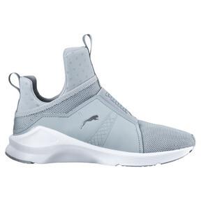Thumbnail 3 of PUMA Fierce Core Training Shoes, Quarry-Puma White-P Silver, medium