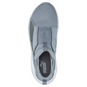 Thumbnail 5 of PUMA Fierce Core Training Shoes, Quarry-Puma White-P Silver, medium