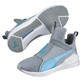 Thumbnail 2 of PUMA Fierce Core Training Shoes, Quarry-Blue Atoll, medium