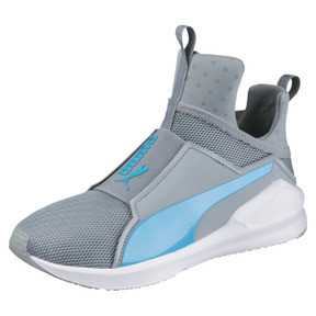 Thumbnail 1 of PUMA Fierce Core Training Shoes, Quarry-Blue Atoll, medium