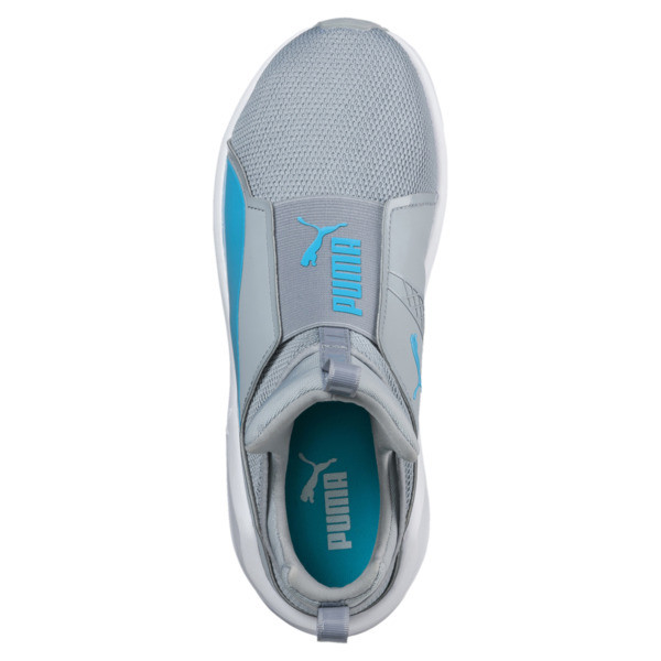 PUMA Fierce Core Training Shoes, Quarry-Blue Atoll, large