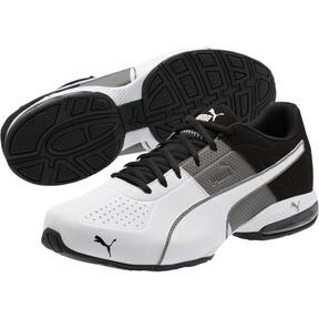 Thumbnail 2 of CELL Surin 2 Matte Men's Training Shoes, Charcoal Gray-Puma White, medium