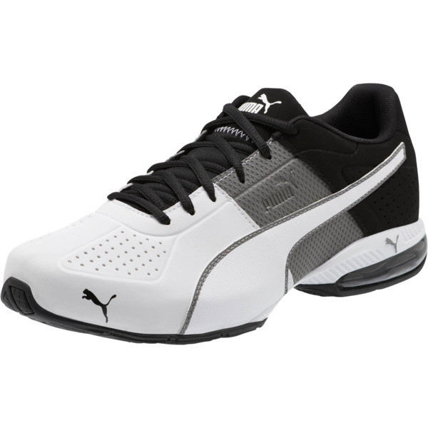 CELL Surin 2 Matte Men's Training Shoes, Charcoal Gray-Puma White, large
