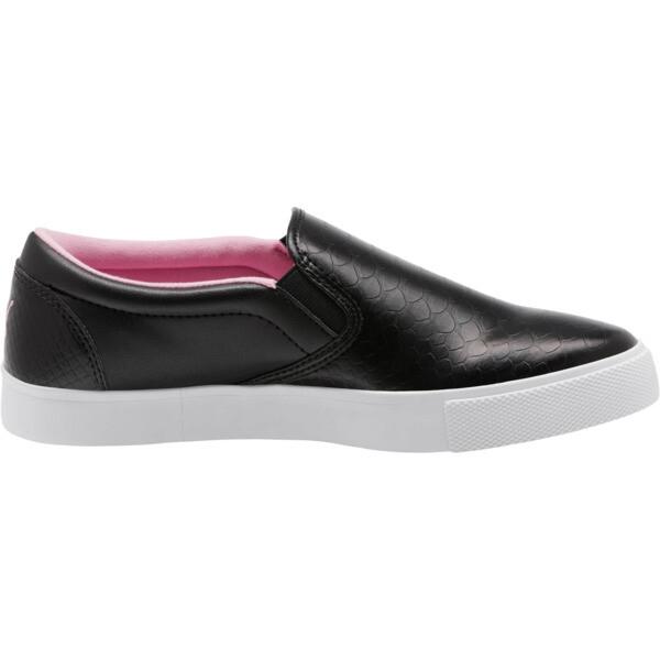 Tustin Women's Slip-On Golf Shoes, Black-PRISM PINK, large