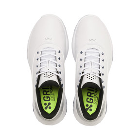 Thumbnail 6 of GRIP FUSION Men's Golf Shoes, White-Black-TRUE BLUE, medium